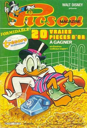 Couverture de Picsou Magazine -114- Picsou Magazine N°114