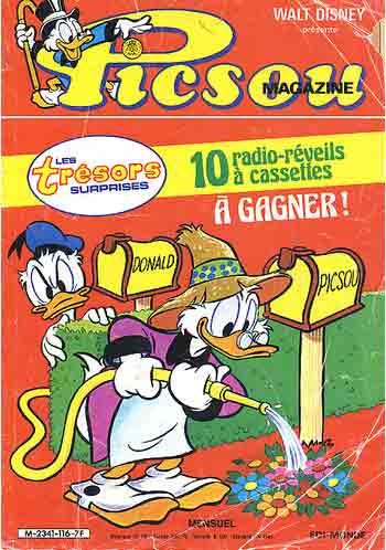 Couverture de Picsou Magazine -116- Picsou Magazine N°116