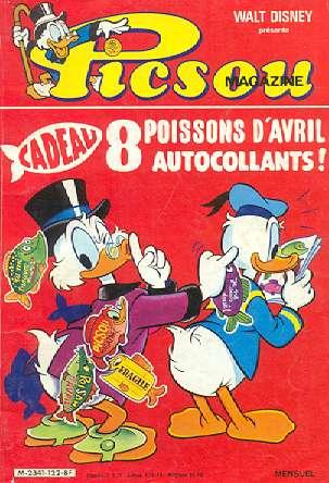 Couverture de Picsou Magazine -122- Picsou Magazine N°122