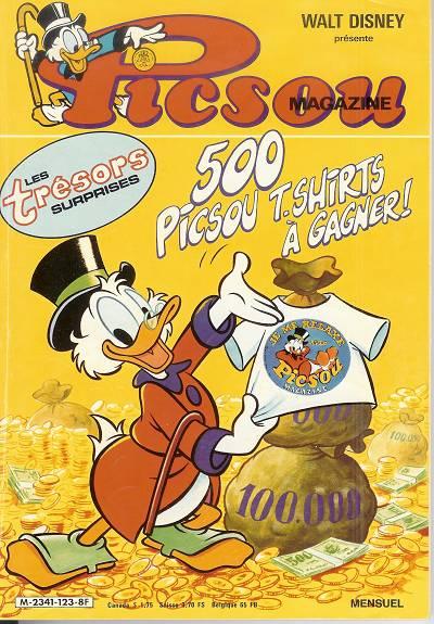 Couverture de Picsou Magazine -123- Picsou Magazine N°123
