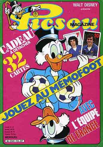 Couverture de Picsou Magazine -125- Picsou Magazine N°125