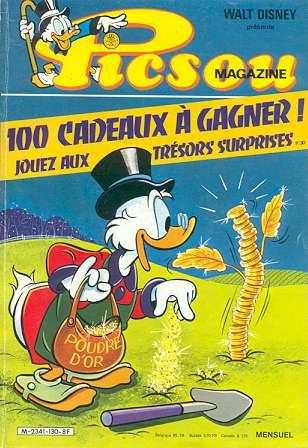 Couverture de Picsou Magazine -130- Picsou Magazine N°130