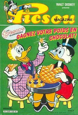 Couverture de Picsou Magazine -132- Picsou Magazine N°132