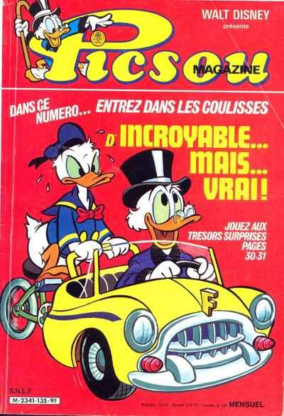 Couverture de Picsou Magazine -135- Picsou Magazine N°135