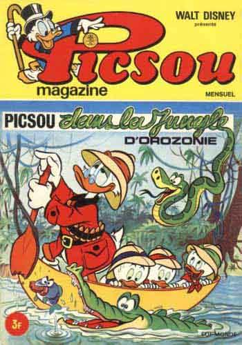 Couverture de Picsou Magazine -13- Picsou Magazine N°13