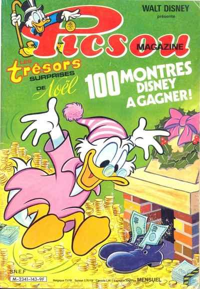 Couverture de Picsou Magazine -143- Picsou Magazine N°143