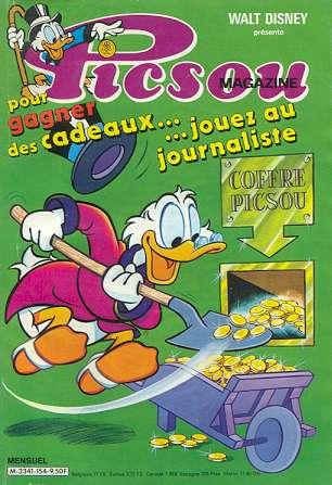 Couverture de Picsou Magazine -154- Picsou Magazine N°154