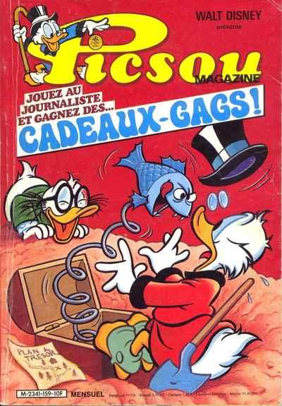 Couverture de Picsou Magazine -159- Picsou Magazine N°159