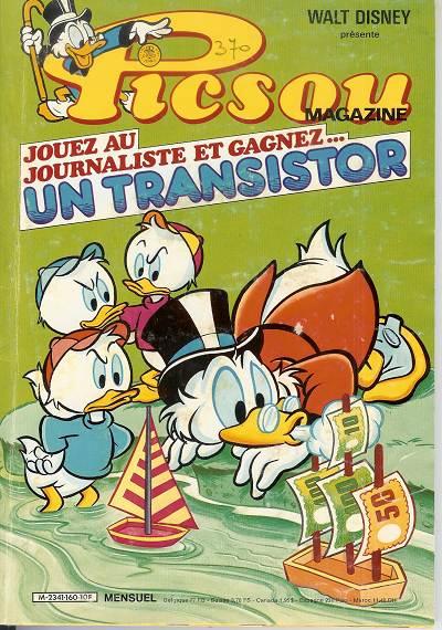Couverture de Picsou Magazine -160- Picsou Magazine N°160