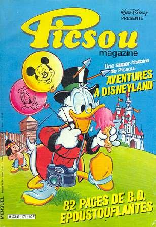Couverture de Picsou Magazine -171- Picsou Magazine N°171
