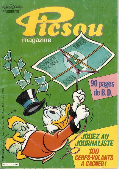 Couverture de Picsou Magazine -172- Picsou Magazine N°172