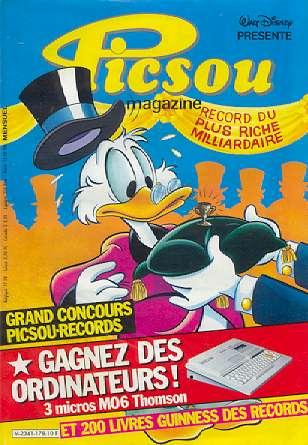 Couverture de Picsou Magazine -178- Picsou Magazine N°178