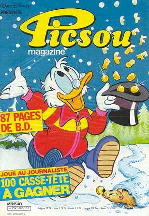Couverture de Picsou Magazine -180- Picsou Magazine N°180