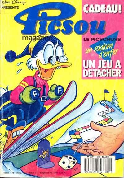 Couverture de Picsou Magazine -181- Picsou Magazine N°181