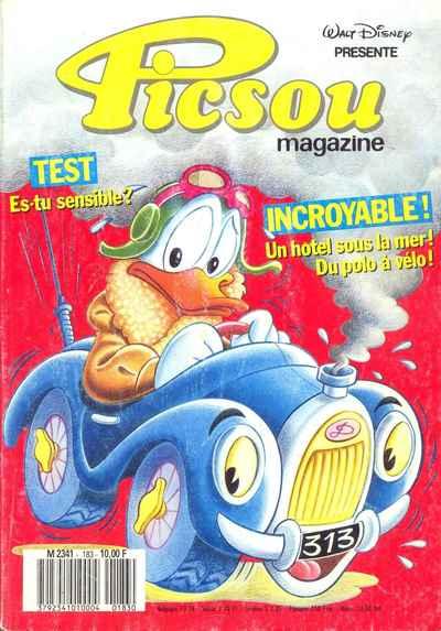 Couverture de Picsou Magazine -183- Picsou Magazine N°183