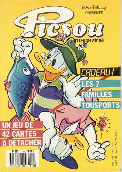 Couverture de Picsou Magazine -185- Picsou Magazine N°185