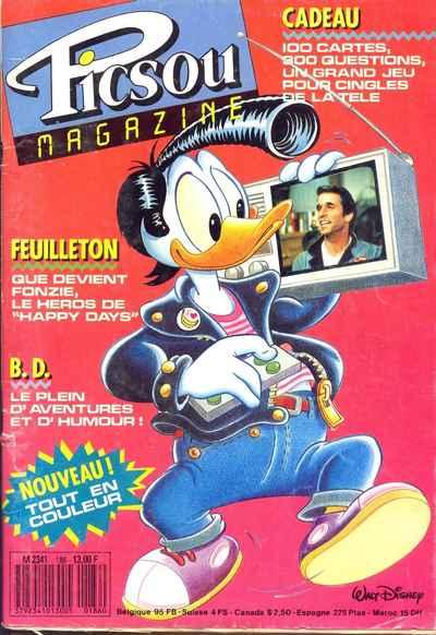 Couverture de Picsou Magazine -186- Picsou Magazine N°186