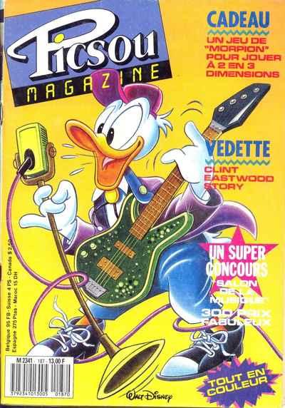 Couverture de Picsou Magazine -187- Picsou Magazine N°187