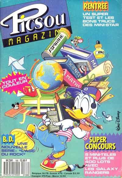 Couverture de Picsou Magazine -188- Picsou Magazine N°188