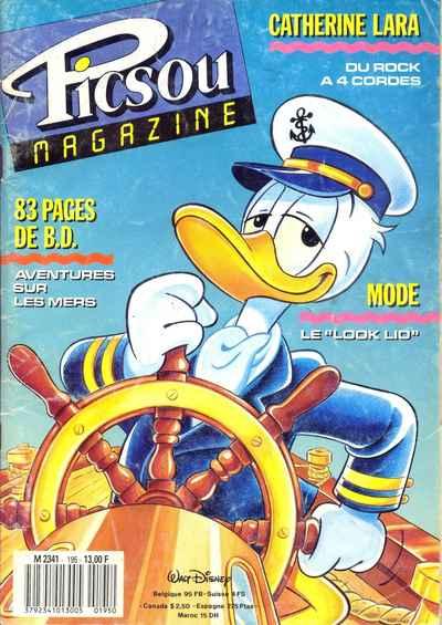 Couverture de Picsou Magazine -195- Picsou Magazine N°195