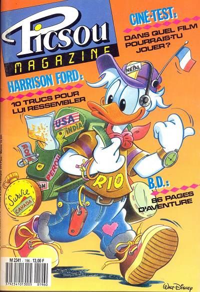 Couverture de Picsou Magazine -196- Picsou Magazine N°196