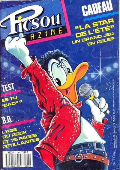 Couverture de Picsou Magazine -197- Picsou Magazine N°197