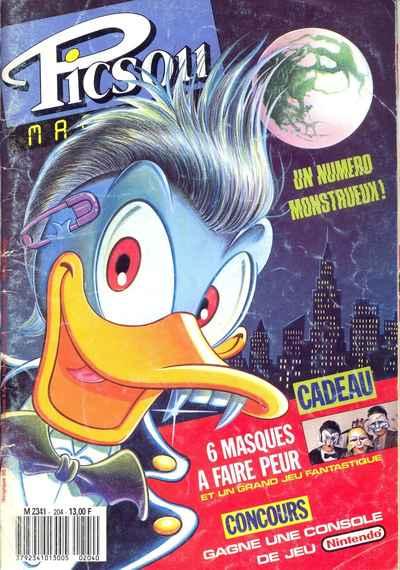 Couverture de Picsou Magazine -204- Picsou Magazine N°204