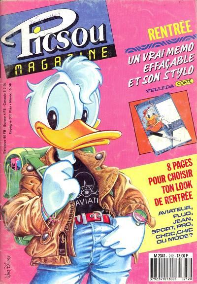 Couverture de Picsou Magazine -212- Picsou Magazine N°212