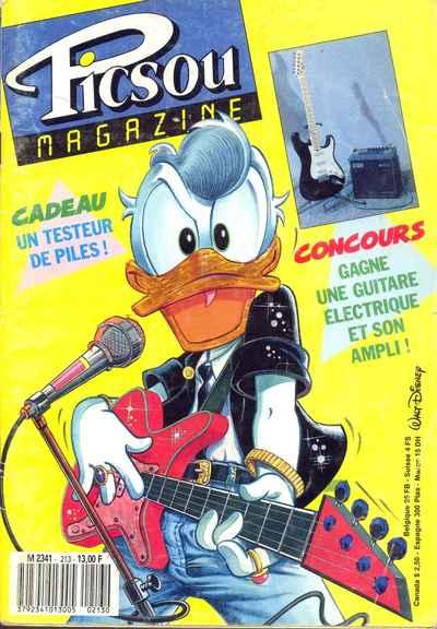 Couverture de Picsou Magazine -213- Picsou Magazine N°213