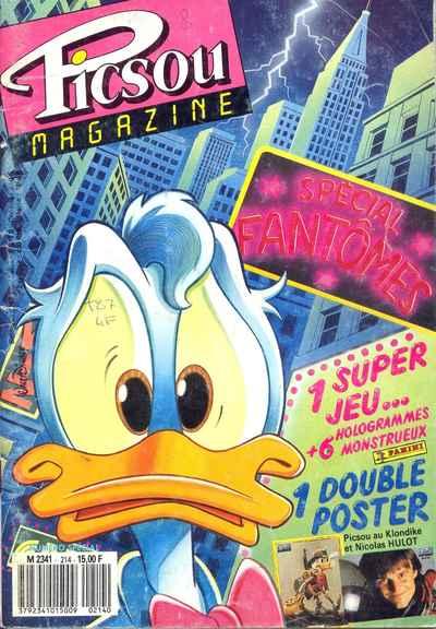 Couverture de Picsou Magazine -214- Picsou Magazine N°214