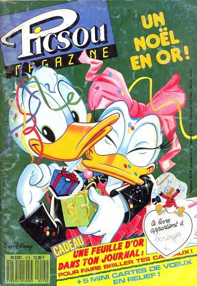 Couverture de Picsou Magazine -215- Picsou Magazine N°215