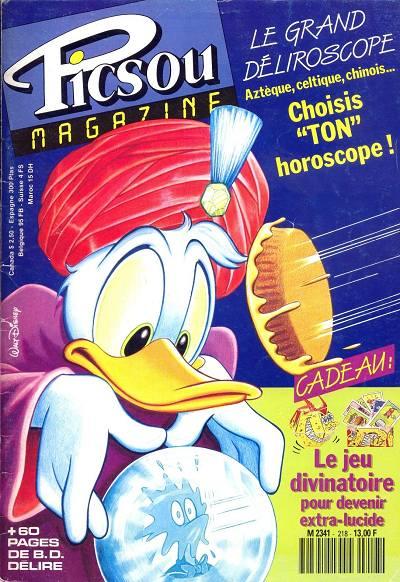 Couverture de Picsou Magazine -218- Picsou Magazine N°218