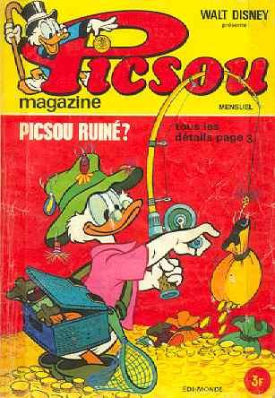 Couverture de Picsou Magazine -21- Picsou Magazine N°21