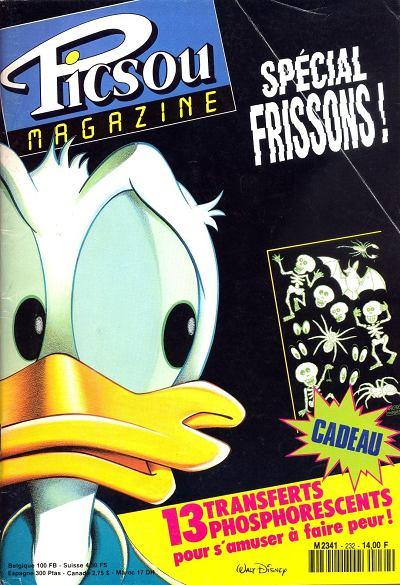 Couverture de Picsou Magazine -232- Picsou Magazine N°232