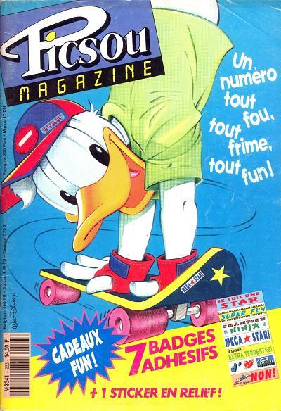 Couverture de Picsou Magazine -233- Picsou Magazine N°233