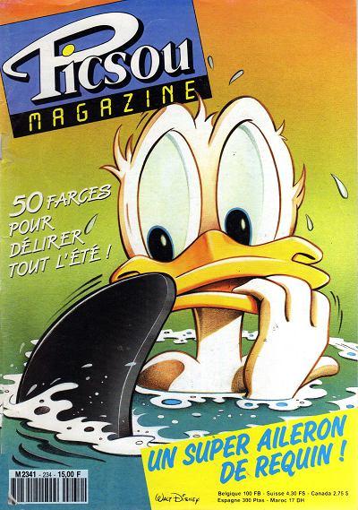Couverture de Picsou Magazine -234- Picsou Magazine N°234