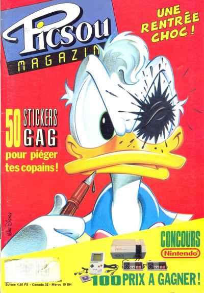 Couverture de Picsou Magazine -236- Picsou Magazine N°236