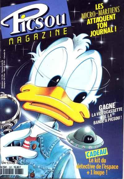 Couverture de Picsou Magazine -237- Picsou Magazine N°237
