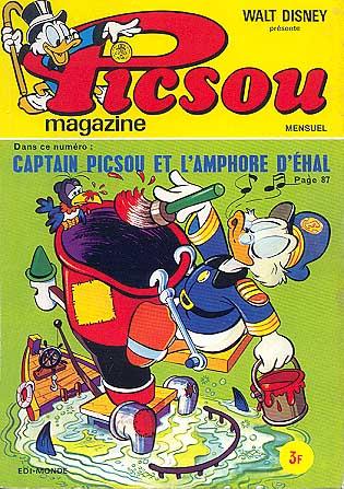 Couverture de Picsou Magazine -23- Picsou Magazine N°23