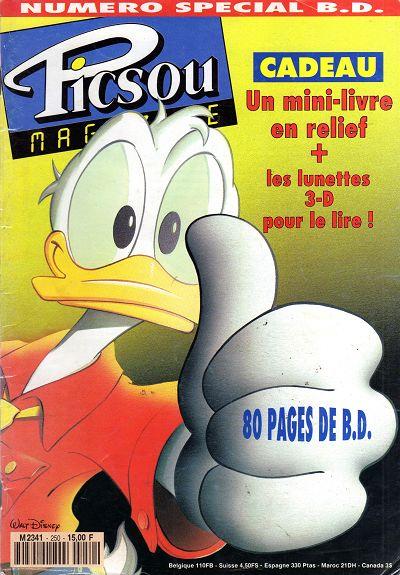 Couverture de Picsou Magazine -250- Picsou Magazine N°250