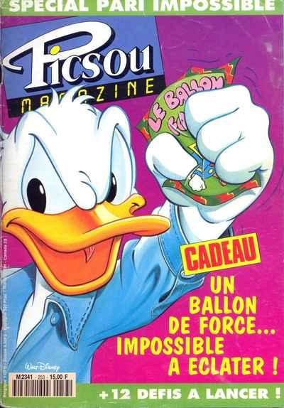 Couverture de Picsou Magazine -253- Picsou Magazine N°253