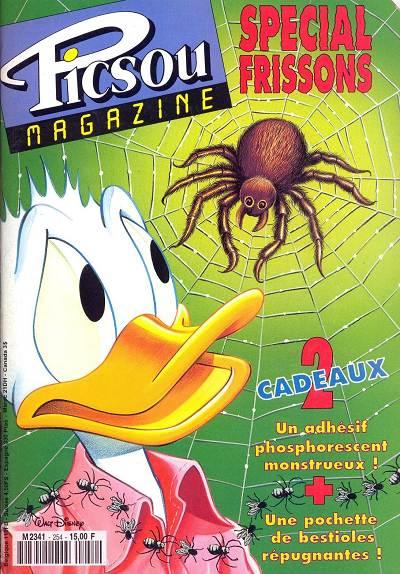 Couverture de Picsou Magazine -254- Picsou Magazine N°254