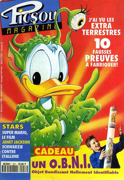 Couverture de Picsou Magazine -257- Picsou Magazine N°257