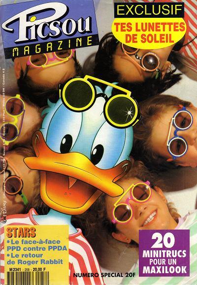 Couverture de Picsou Magazine -258- Picsou Magazine N°258