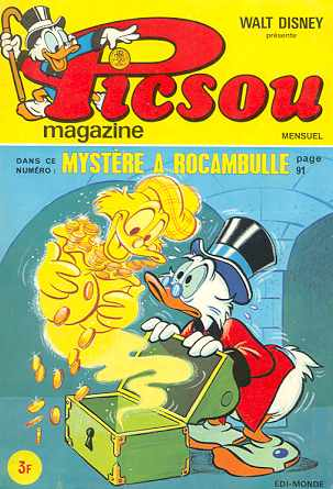 Couverture de Picsou Magazine -26- Picsou Magazine N°26