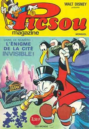 Couverture de Picsou Magazine -27- Picsou Magazine N°27