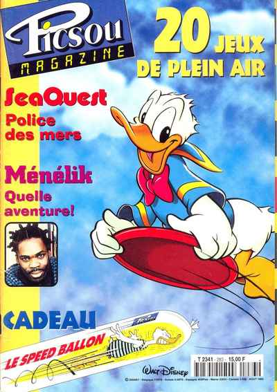 Couverture de Picsou Magazine -283- Picsou Magazine N°283