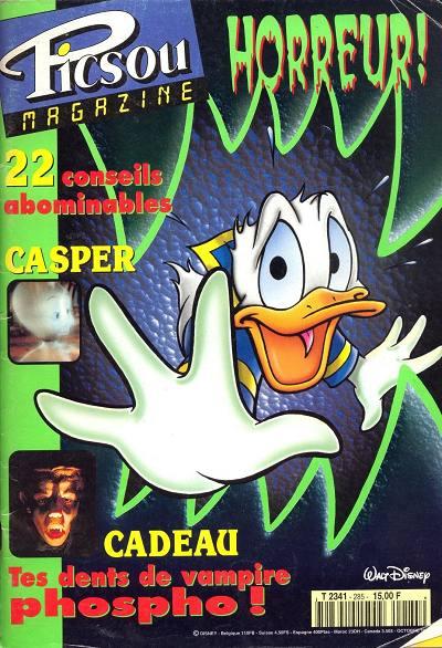 Couverture de Picsou Magazine -285- Picsou Magazine N°285