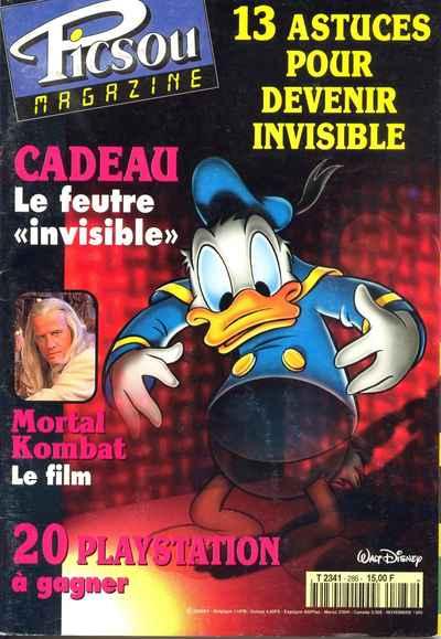 Couverture de Picsou Magazine -286- Picsou Magazine N°286