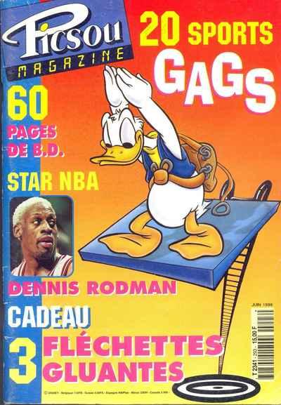 Couverture de Picsou Magazine -293- Picsou Magazine N°293